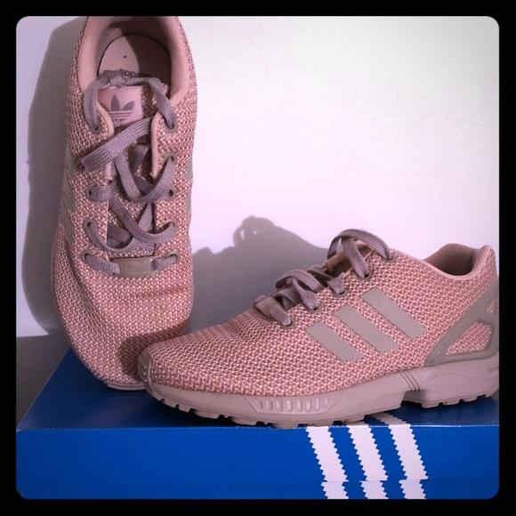 huge selection of 83eca 149cf Adidas original zx flux girls pink 💖
